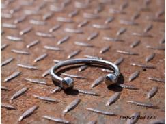 Náramek nerezový z chirurgické oceli (55 - 70mm) tl. 6