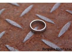 Ring gerundet Breite. 4,5 mm